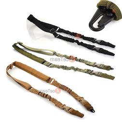 3 Color 2 Dual Point Adjustable Tactical Sling Rifle Paintba
