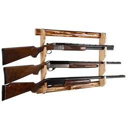 Rush Creek Creations Rustic Gun Wall Rack - 4 Minute Assembl