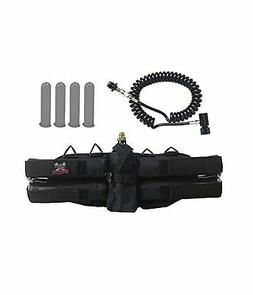 Maddog Sports 4+1 Paintball Harness w/ Pods & Standard Remot