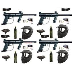 4 Pack - Tippmann 98 Custom 12oz Xray Family Package + Barre