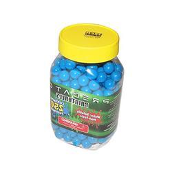 Predator .50 caliber paintballs 250 jar Splatballs BLUE spla