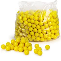 Veska V9010 High Grade Paintballs.68 Caliber, Yellow, 500 Co