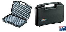 6 x LARGE DOUBLE HARD GUN CASES for pistol Air Paintball Air