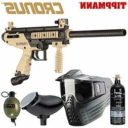 Tippmann 81967 Cronus Package contains Paint Gun Tank Mask L