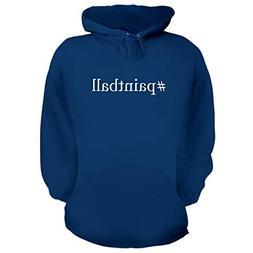 BH Cool Designs #Paintball - Graphic Hoodie Sweatshirt, Blue