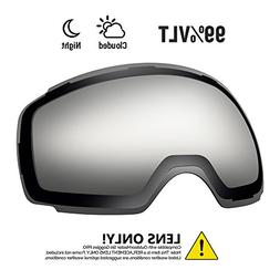 OutdoorMaster Ski Goggles PRO Replacement Lens - 20+ Differe