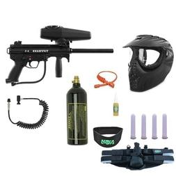 Tippmann A-5 Paintball Gun 4+1 X-Ray Mega Set + Remote + Nec