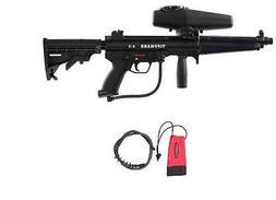 Tippmann A-5 HE EGRIP Flatline Paintball gun X7 Hopper SNIPE