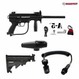 Tippmann A-5 Paintball Gun Pro Push Button Remote Coil Slide