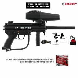 Tippmann A-5 w/ Response Trigger Paintball Gun A5 - Black