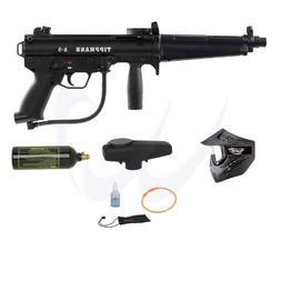 TIPPMANN A5 A-5 Paintball Marker Gun w/ Flatline Entry Combo