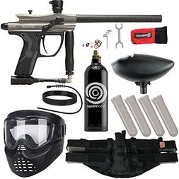 Action Village Kingman Spyder Fenix Epic Paintball Gun Packa