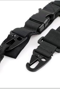 Adjustable 3 Point Tactical Paint Ball Air Soft Rifle Sling