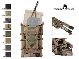 Airsoft Hunting Single Rifle Pistol Molle Magazine Pouch Dou