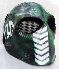 Airsoft Mask Helmet Army of Two Paintball BB Gun Protective
