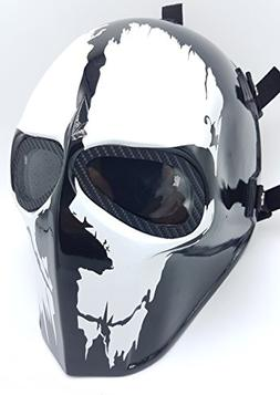 Invader King ® Airsoft Mask & Paintball Mask Protective Gea