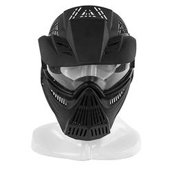 Airsoft Mask,YASHALY Adjustable Full Face Army Military Tact