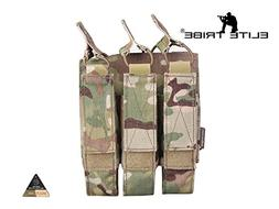 Airsoft Molle Magazine Pouch Tactical Modular Triple Ammo Po