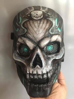 Airsoft Paintball BB Gun CS Tactical Full Face Protect Skull