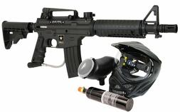 US Army Alpha Power Pack Paintball Marker, Black