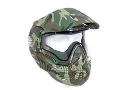 Valken Paintball MI-7 Goggle/Mask with Dual Pane Thermal Len