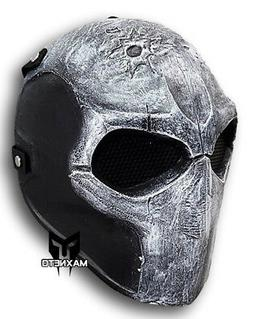 Army Two Airsoft Paintball BB Gun Tactical Full Face Mask Me