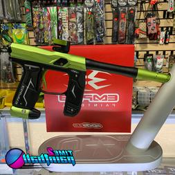 Empire Axe 2.0 Matte Green Black Dust Tournament Paintball M