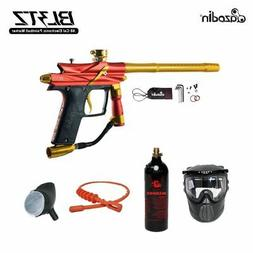 Azodin Blitz 3 Bronze Paintball Gun Package - Orange