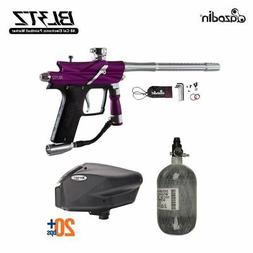 Azodin Blitz 3 HPA Paintball Gun Package - Purple