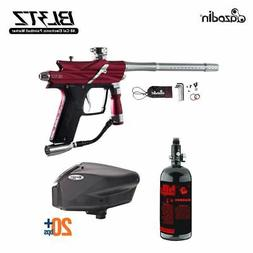 Azodin Blitz 3 HPA Paintball Gun Package - Red