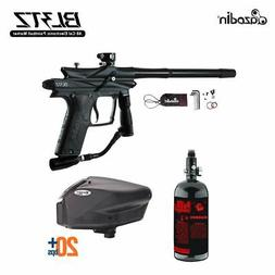 Azodin Blitz 3 HPA Paintball Gun Package - Black