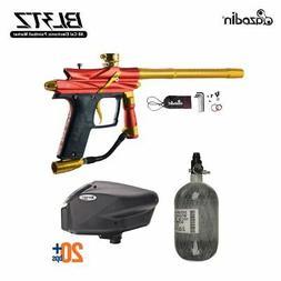 Azodin Blitz 3 HPA Paintball Gun Package - Orange