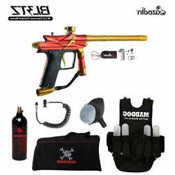 Azodin Blitz 3 Lieutenant Paintball Gun Package - Orange