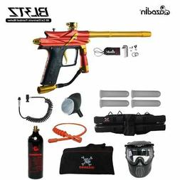 Azodin Blitz 3 Specialist Paintball Gun Package - Orange