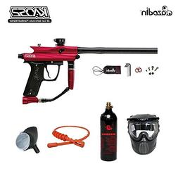MAddog Azodin Kaos 2 Bronze Paintball Gun Package - Red/Blac