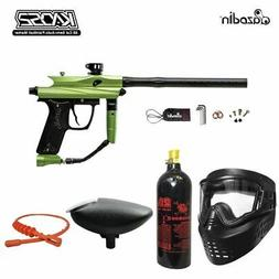 MAddog Azodin Kaos 2 Bronze Paintball Gun Package - Green/Bl