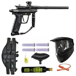 Azodin Kaos 2 Paintball Marker Gun 3Skull 4+1 9oz Mega Set -