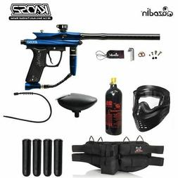 MAddog Azodin Kaos 2 Silver Paintball Gun Package - Blue/Bla
