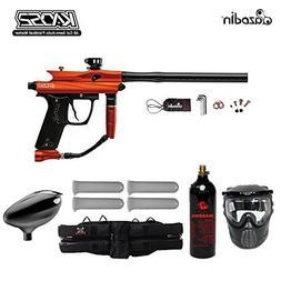MAddog Azodin Kaos 2 Starter CO2 Paintball Gun Package - Ora