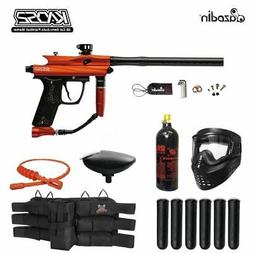 MAddog Azodin Kaos 2 Titanium Paintball Gun Package - Orange