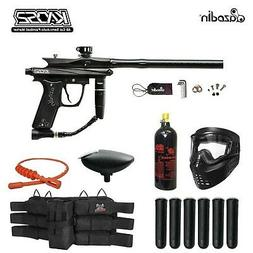 MAddog Azodin KAOS 2 Titanium Paintball Gun Package Black