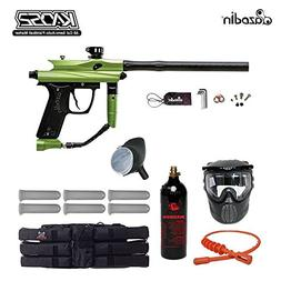MAddog Azodin Kaos 2 Titanium Paintball Gun Package - Green/