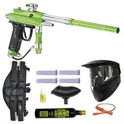 Azodin Kaos-D II Paintball Marker Gun 3Skull 4+1 9oz Mega Se