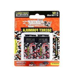 Energy Paintball Batteries - Secret Formula - 9 Volt - Doubl