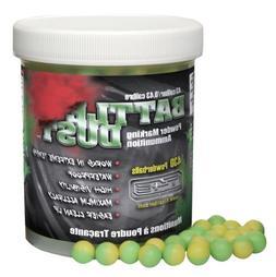 T4E Battle Dust 0.43-Caliber Powder Balls, Green/Yellow, 430