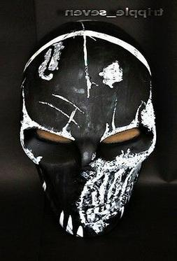 BB Gun Airsoft Paintball Mask Goggle Full Face Gear Skull Fa