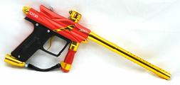 Azodin Blitz 3 Electronic Paintball Gun Marker ORANGE YELLOW