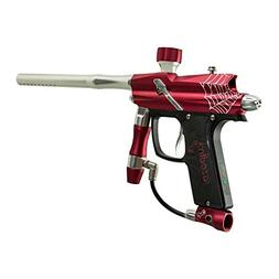 Azodin Blitz Evo Electronic Paintball Marker Gun - Red/Silve