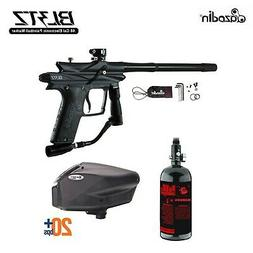 Brand New MAddog Azodin Blitz 3 HPA Paintball Gun Package Bl