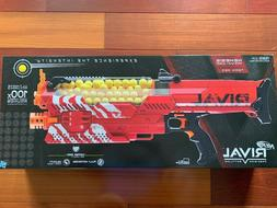 Brand NEW RED Nerf Rival Nemesis MXVII-10K in factory sealed